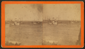 Boats and steamboat in the bay, South Orrington, by G. R. Wheelden.png