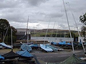 Hollingworth Lake -  Hollingworth Lake boatyard