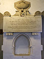 Bobbingworth, Essex, England - St Germain's Church interior - Capel Cure memorial 02.JPG