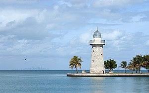 Boca Chita Key - Image: Boca Chita Lighthouse