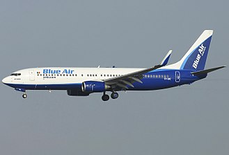 Blue Air - Blue Air Boeing 737-800