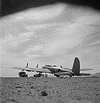 Boeing B-17 - Shallufa - Royal Air Force Operations in North Africa, 1939-1943. CM1582.jpg