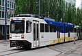 Bombardier LRV of TriMet on Holladay St at 11th Ave in 2009.jpg