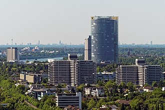 Cologne Bonn Region - Image: Bonn Kreuzbauten Post Tower