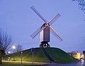 Bonne Chiere windmill in Bruges, Belgium (DSCF4838).jpg