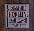 Bonneville Shoreline Trail marker 02.jpg
