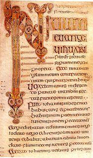 Book of Durrow medieval illuminated manuscript gospel book