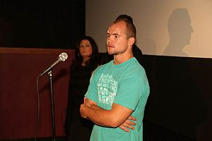 Chris Borland - Borland attended the premier of GridIron Gladiators directed by Todd Trigsted
