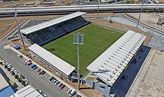 Doğanlar Stadium - Image: Bornova Stadyumu