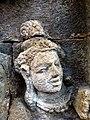 Borobudur - Divyavadana - 076 N, King Rudrayana abdicates in favour of his son Sikhandi (detail 2) (11706868286).jpg