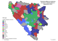 Bosnia and Herzegovina, mayoral elections, 2012-sr.png