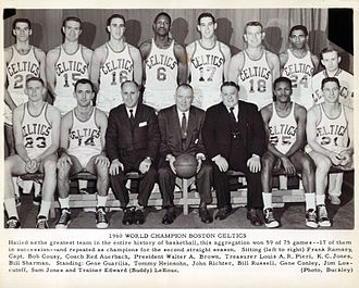 1959–60 Boston Celtics season - The complete Celtics roster.