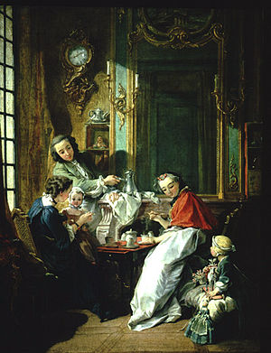 1739 in art - François Boucher – The Breakfast