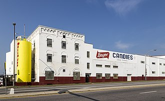 Boyer (candy company) - The Boyer Candies factory in Altoona, Pennsylvania