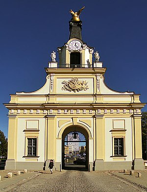 Jan Klemens Branicki - Griffin Gate in Białystok