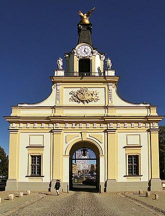 Jan Klemens Branicki - Griffin Gate in Białystok