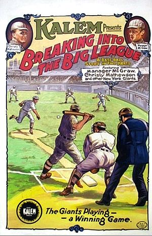 Breaking into the Big League - Film poster