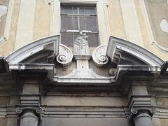 Fronton architecture wikip dia for Fenetre au dessus d une porte