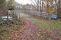 Bridge across A46, Wootton Spinnies - geograph.org.uk - 1572444.jpg