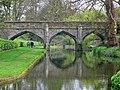 Bridge at Eltham Palace (geograph 6122053).jpg