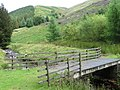 Bridge over River Westend towards Ridge Upper Moor - geograph.org.uk - 1410245.jpg