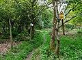 Bridleway to Chesterton, Shropshire - geograph.org.uk - 1302247.jpg