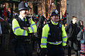 Bristol public sector pensions march in November 2011 police presence.jpg