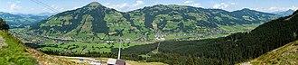 Brixen im Thale - Image: Brixen Panorama