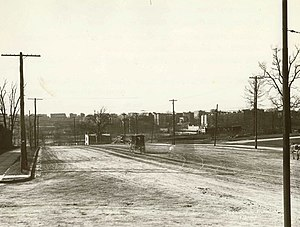 The Bronx - Grand Concourse and 161st Street as it appeared around 1900