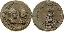 220px-Bronze-Gordian_III_and_Tranquillin