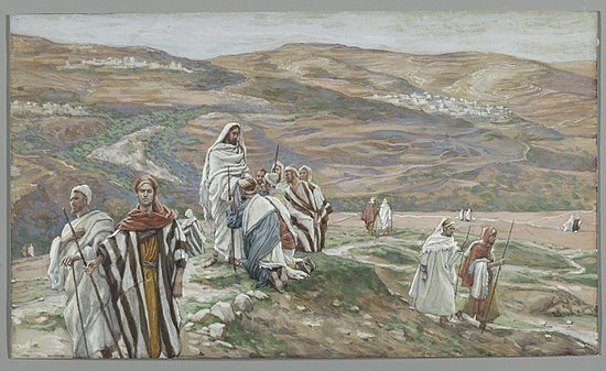 Brooklyn Museum - He Sent them out Two by Two (Il les envoya deux à deux) - James Tissot - overall.jpg