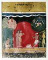 Brooklyn Museum - Krishna Steals the Gopis' Clothes Page from a Dated Rasikapriya Series.jpg