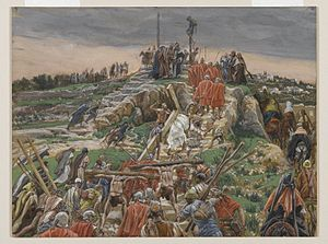 The Procession Nearing Calvary