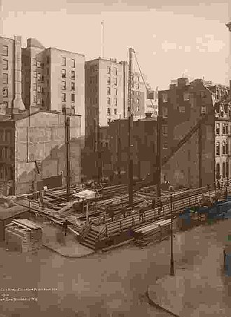 Brooklyn Trust Company - Image: Brooklyn Trust building Sept 29 1914 by Irving Underhill