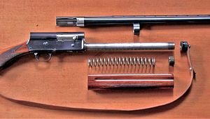 Browning Auto-5 - Auto-5 field stripped