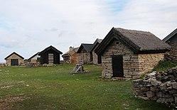 Рибарско селище на остров Йоланд