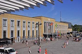 Brugge railway station railway station in Belgium