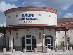 Bruni HIgh School in the Webb Consolidated Independent School District