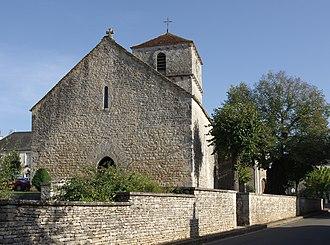 Brux, Vienne - St Martin's church in Brux