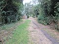 Bubwith Rail Trail going through the former Holme Moor station (geograph 5975308).jpg