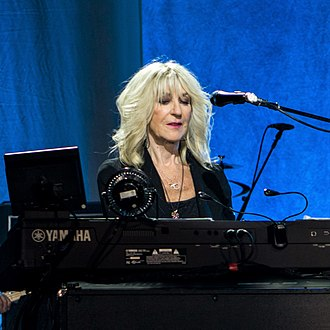 Christine McVie - McVie performing in November 2017