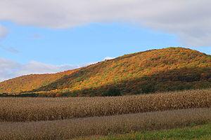 North Union Township, Schuylkill County, Pennsylvania - Buck Mountain in North Union Township