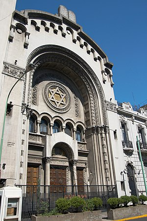 History of the Jews in Latin America and the Caribbean - Templo Libertad Synagogue in Buenos Aires.