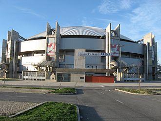 Saski Baskonia - Fernando Buesa Arena (formerly known as Araba Arena), home of Baskonia since 1991