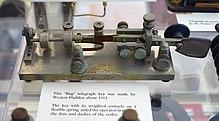 Telegraph key - Wikipedia