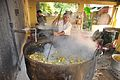 Bulk Vegetables Cooking - Ramakrishna Mission Ashrama - Sargachi - Murshidabad 2014-11-11 8334.JPG