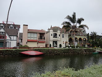 Venice Canal Historic District - Bungalows on the Venice Canals