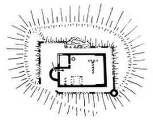 Steckelberg Castle - Ground plan of the castle