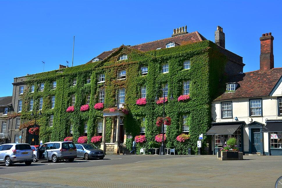 Bury St Edmunds, Angel Hotel (23401163280)