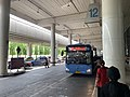 Bus station at Don Mueang Airport 2019.jpg